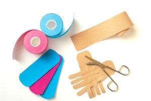 elastische Taping Bänder